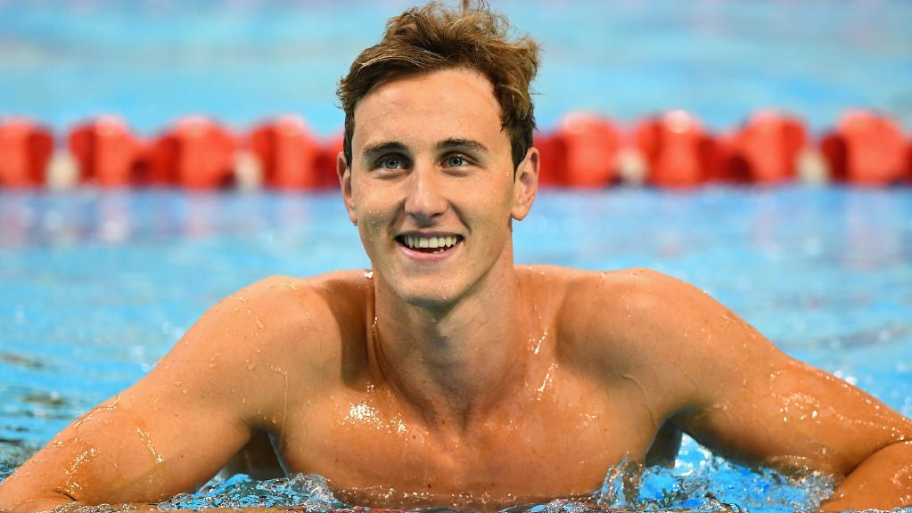 Australia Swimmer Cameron McEvoy