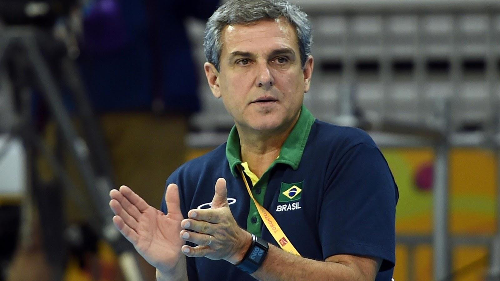Brazil Women's Volleyball Team Coach - Jose Roberto Guimaraes