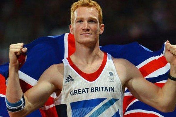 British Long Jumper Greg Rutherford