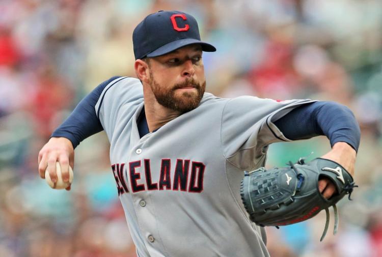 Cleveland Indians Corey Kluber