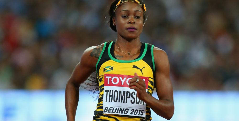 Jamaican Sprinter Elaine Thompson