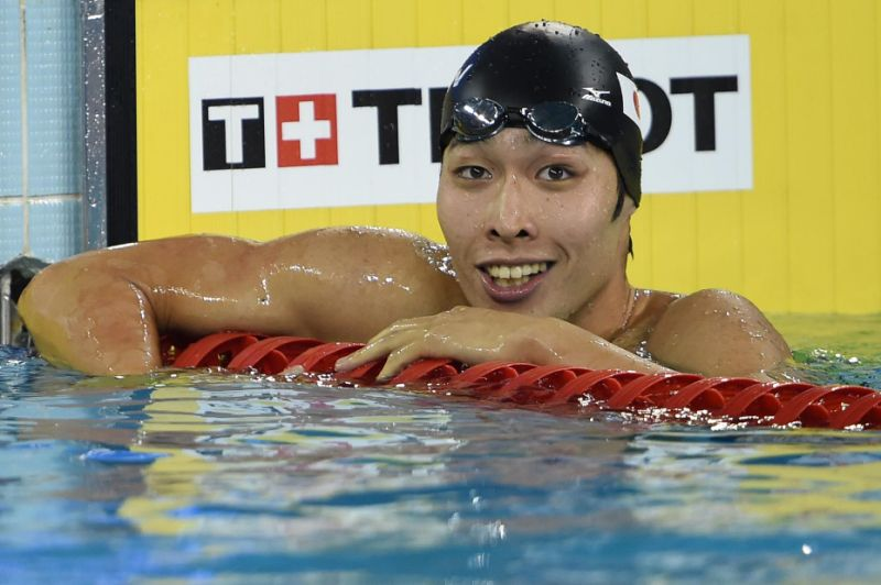 Japan Swimmer Kosuke Hagino