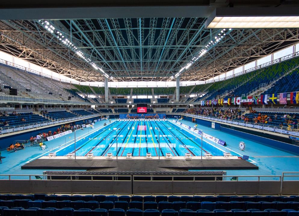Rio De Janiero's Aquatics Stadium