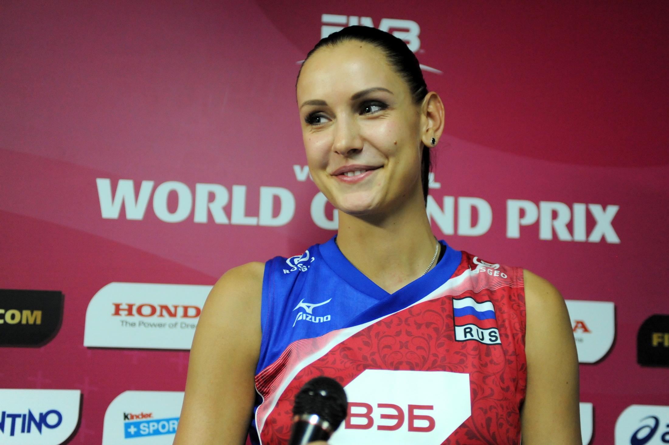 Russian Volleyball Team Player - Nataliya Goncharova