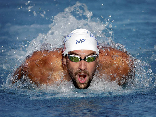 USA Swimmer Michael Phelps