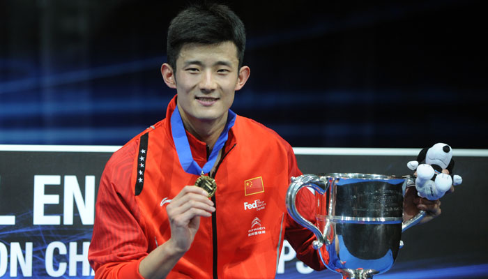 Chinese Men's Singles Player Chen Long
