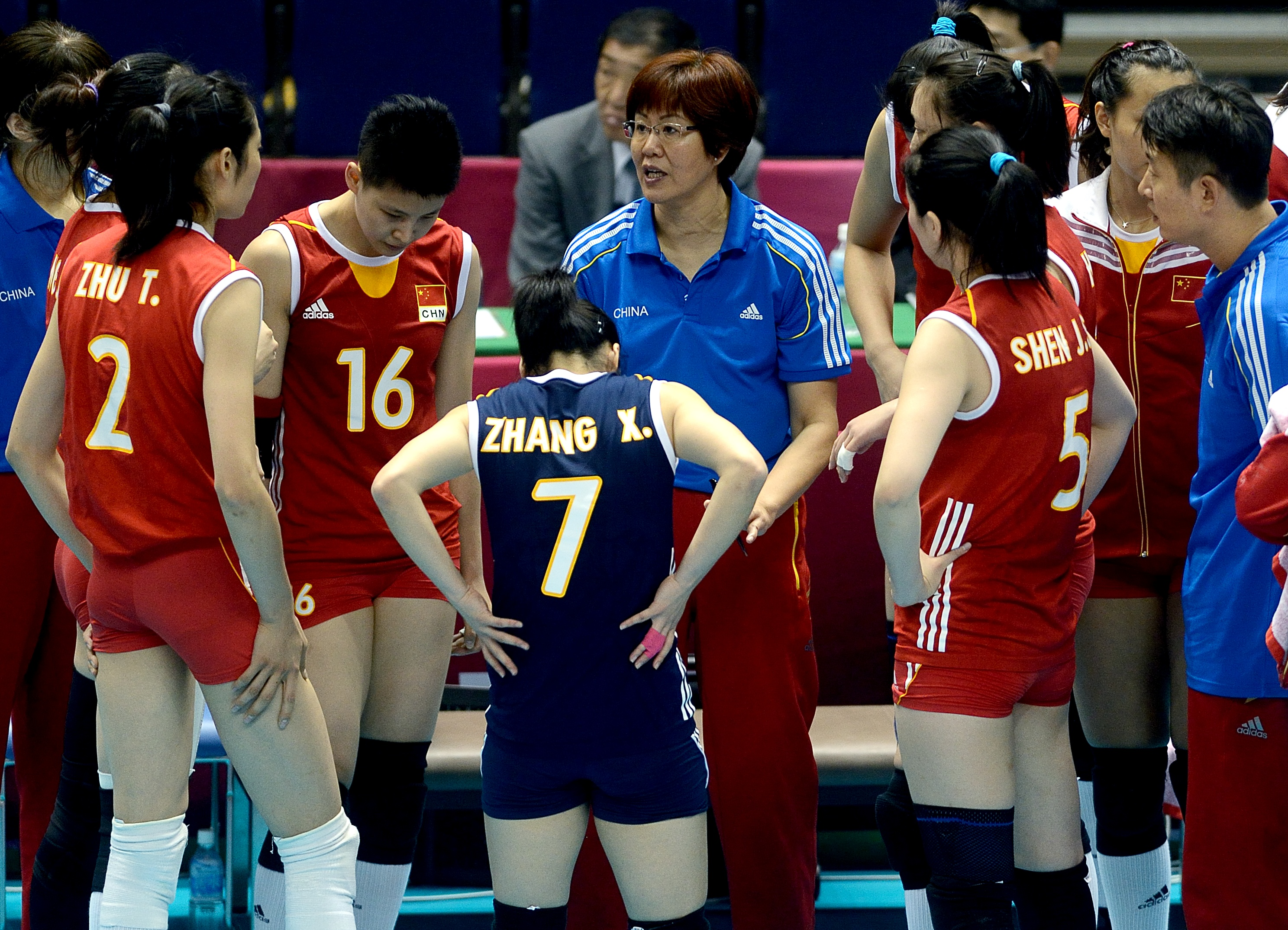 """Chinese Women's Volleyball Coach """"Jenny"""" Lang Ping"""