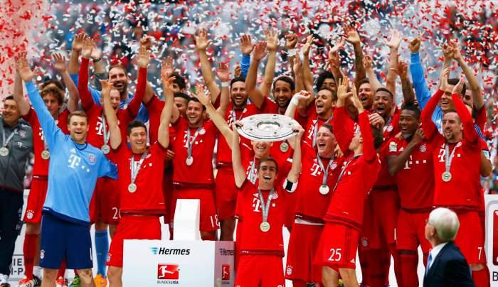 2015-16 Bundesliga Champions - Bayern Munich