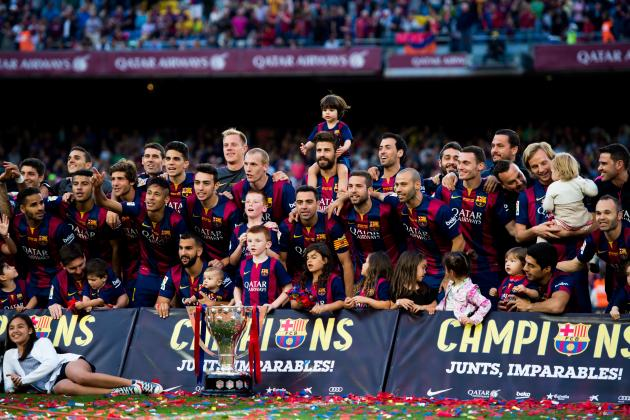 2015-16 Liga Espanola Champions - FC Barcelona