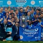 2015-16 Premier League Champions - Leicester City Football Team