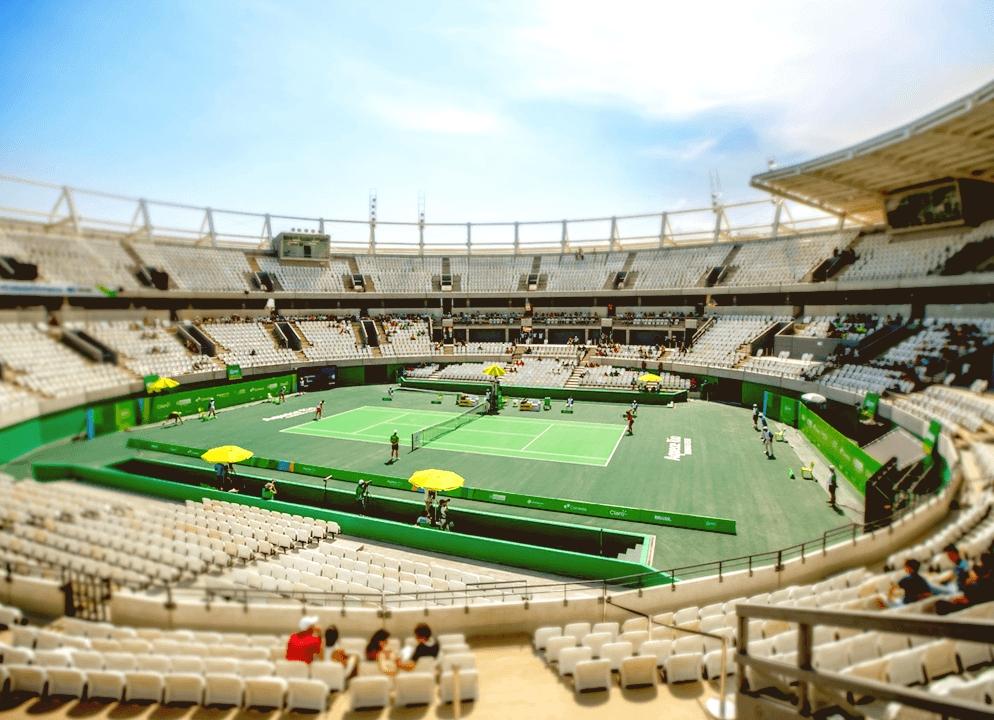 2016 Rio Olympics Tennis Centre