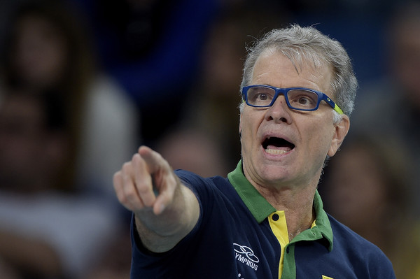 Brazilian Men's Volleyball Coach Bernardo Rezende
