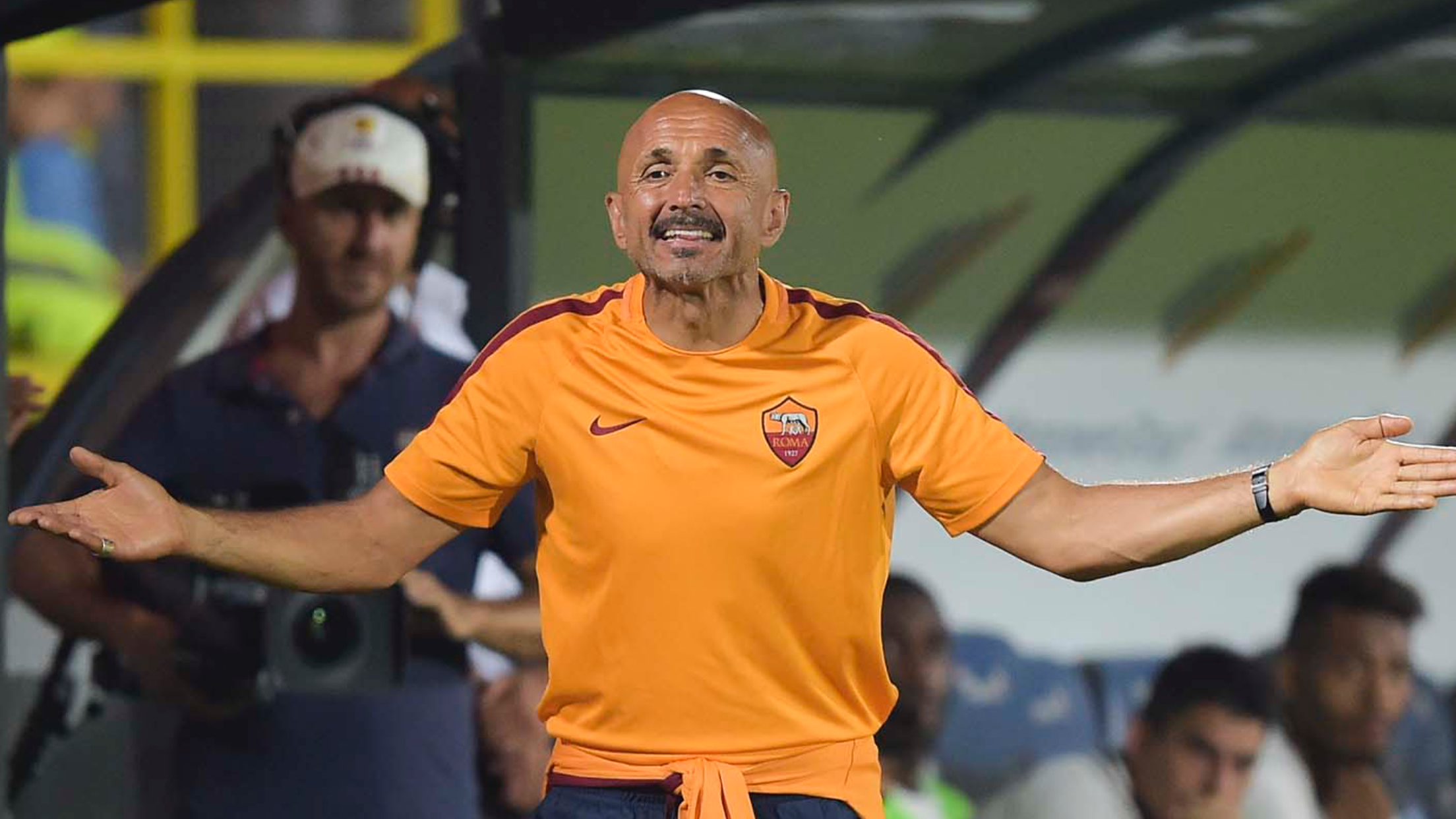 AS Roma Manager Luciano Spalletti
