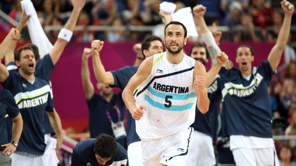 Argentina Basketball Player Manu Ginobili