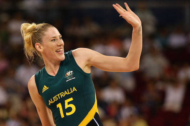 Australia Basketball Player Lauren Jackson