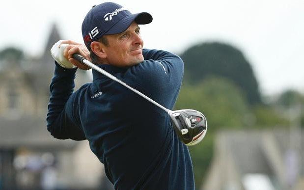 British Golfer Justin Rose