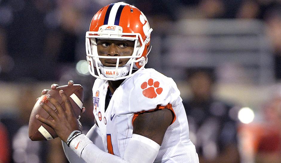 Clemson Tigers Quarterback Deshaun Watson