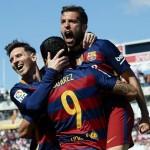 FC Barcelona Goal Celebration
