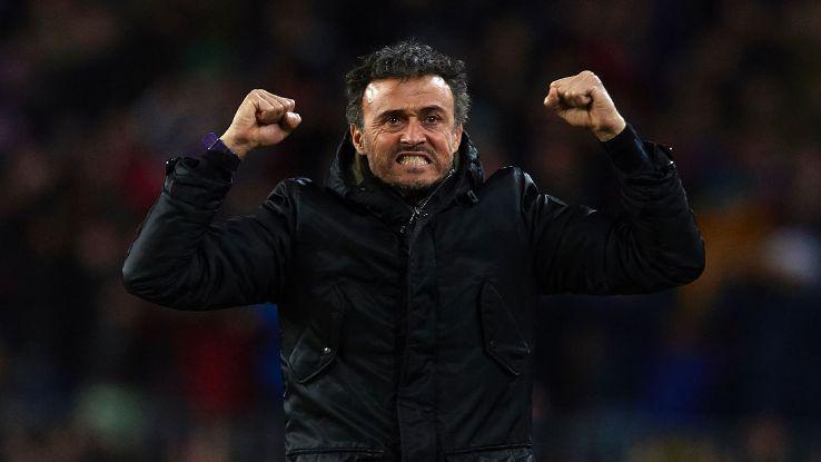 FC Barcelona Manager Luis Enrique