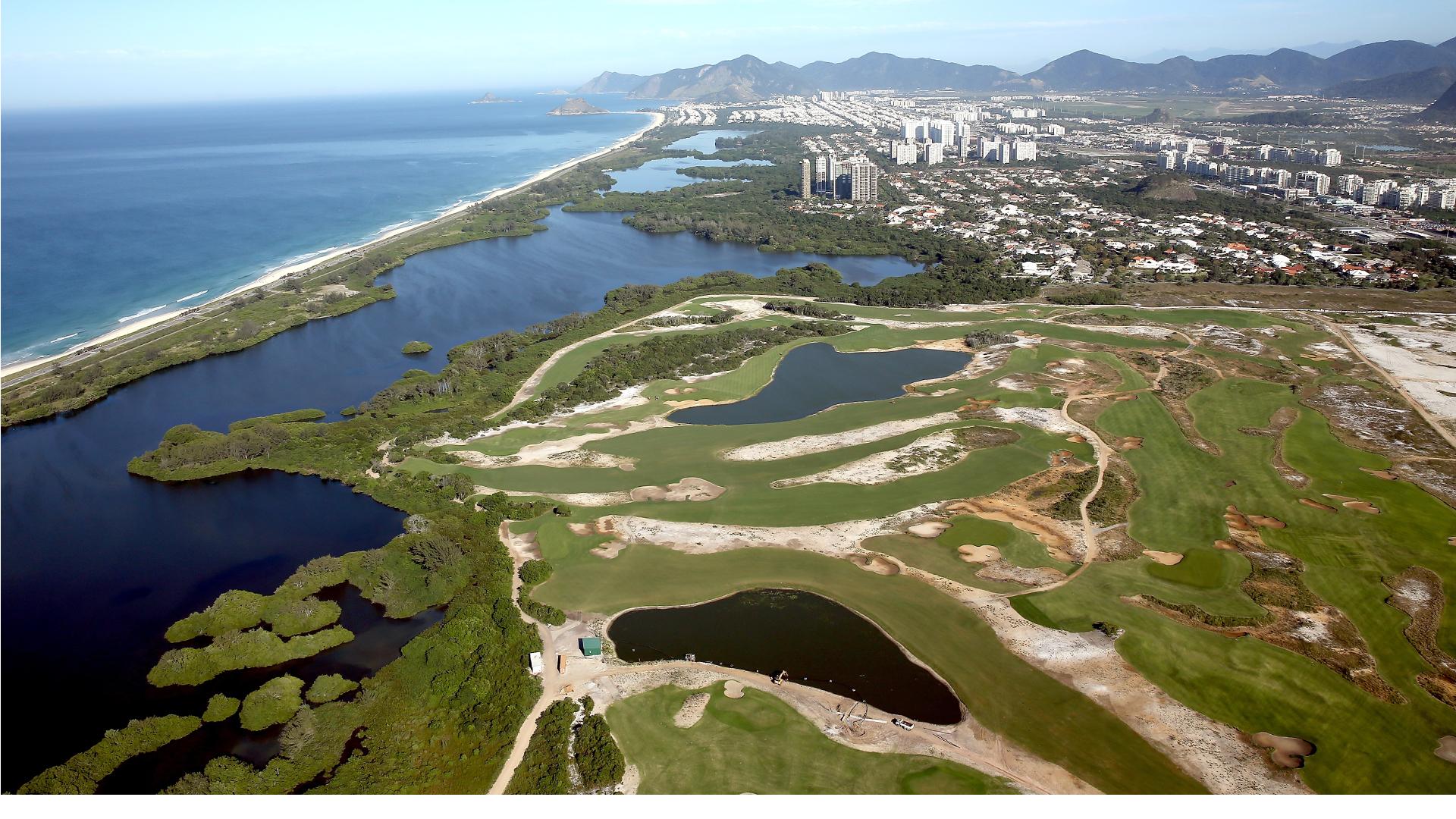 Gil Hanse Designed Rio de Janeiro Olympic Golf Course