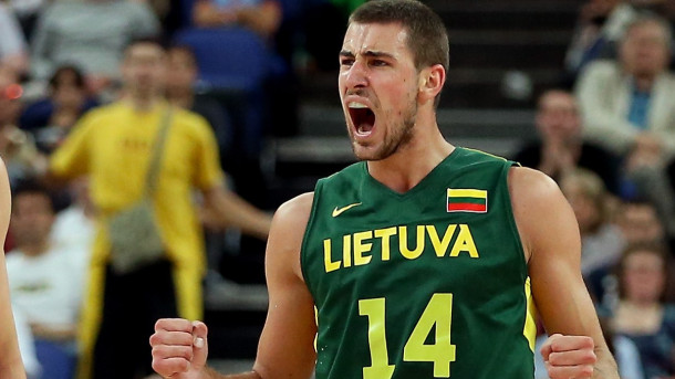 Lithuania Basketball Player Jonas Valanciunas