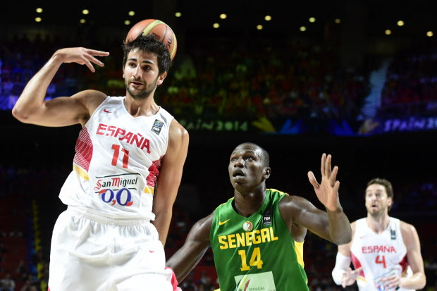 Spain Basketball Player Ricky Rubio