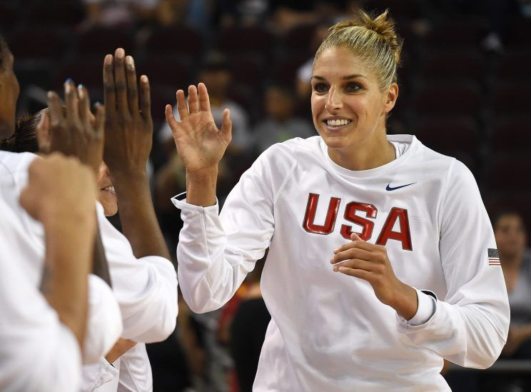 Team USA Basketball Player Elena Delle Donne