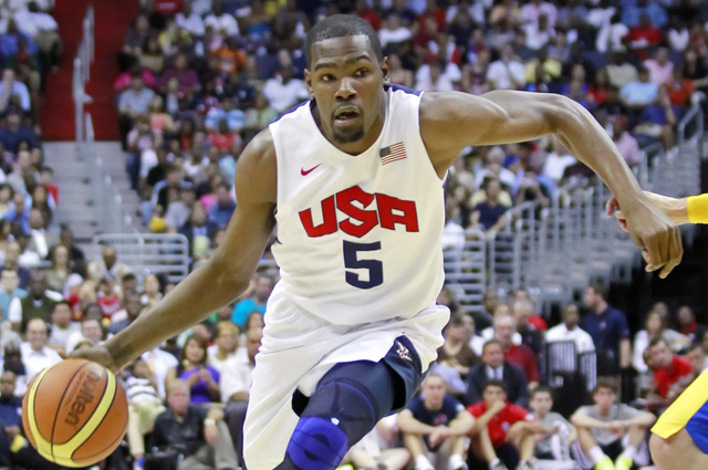 Team USA Basketball Player Kevin Durant