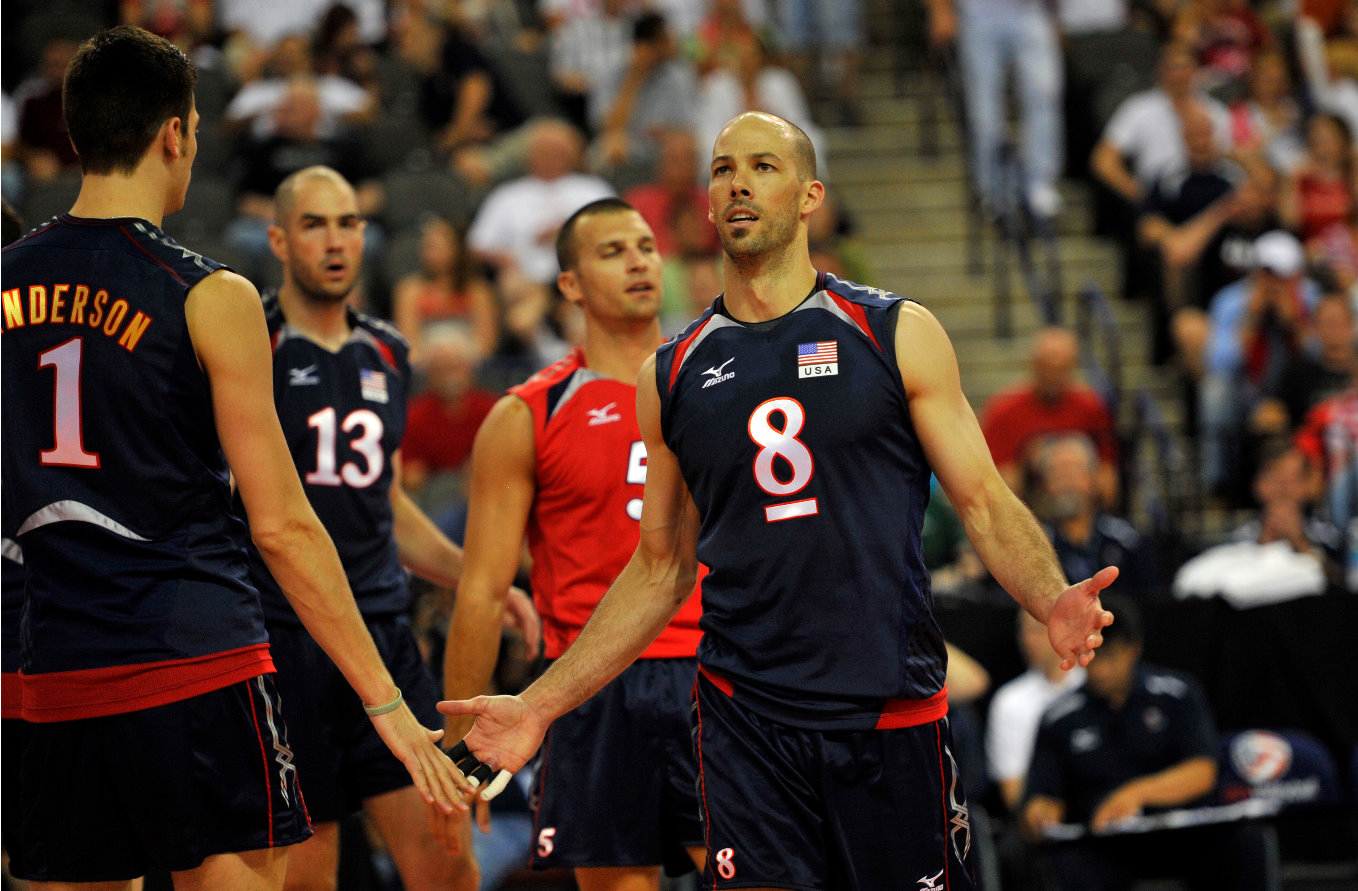 U.S. Volleyball Player Reid Priddy
