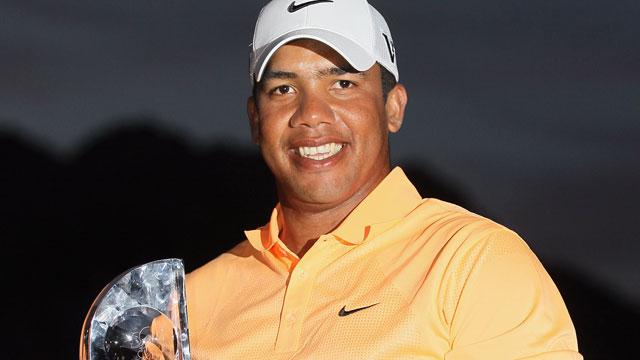 Venezuelan Golfer Jhonattan Vegas