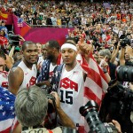 2012 London Olympics Men's Basketball Gold Medalists - Team USA
