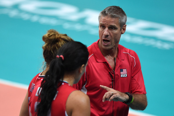 U.S. Women's Volleyball Coach Karch Kiraly