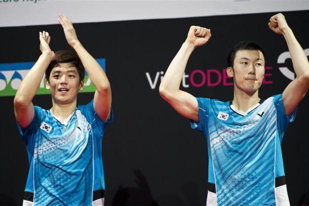 South Korean Men's Doubles Team Lee Yong Dae & Yoo Yeon Seong