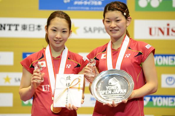 Japanese Women's Doubles Team Misaki Matsutomo & Ayaka Takahashi