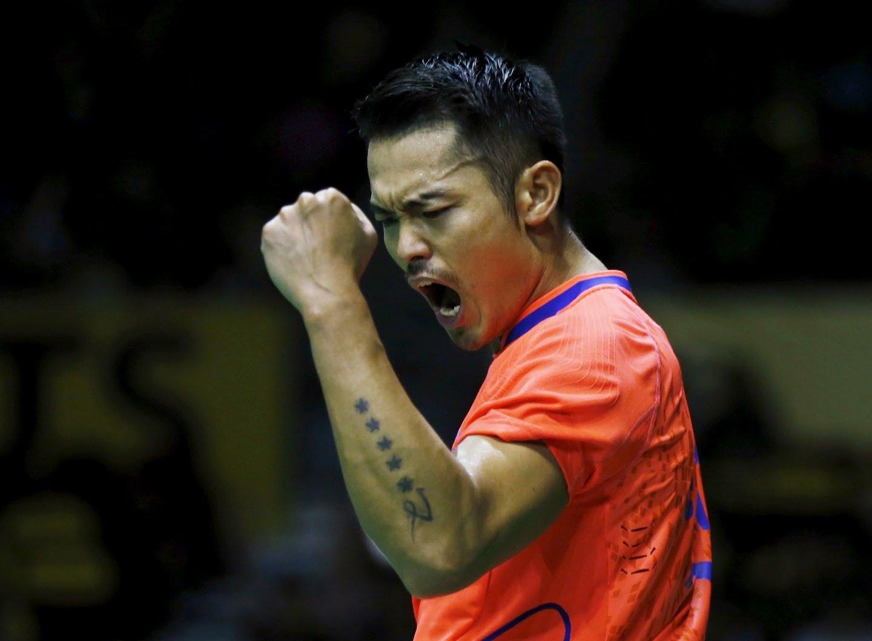 Chinese Men's Singles Player Lin Dan
