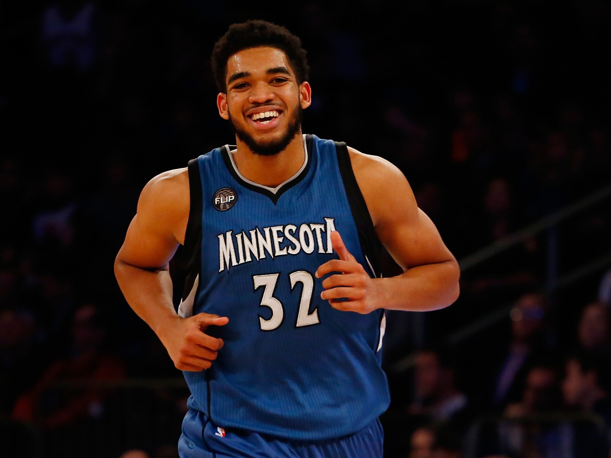 Minnesota Timberwolves Player Karl-Anthony Towns