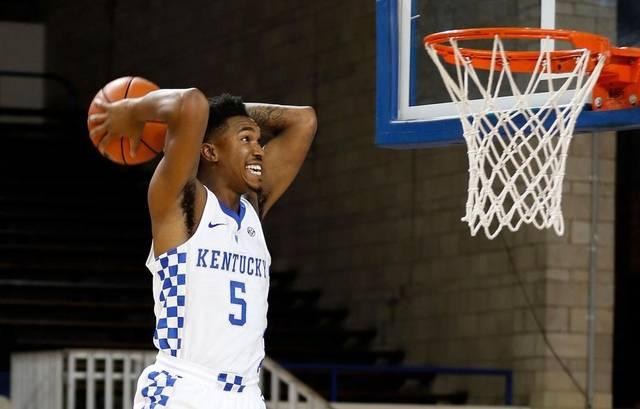 Kentucky Wildcats Player Malik Monk