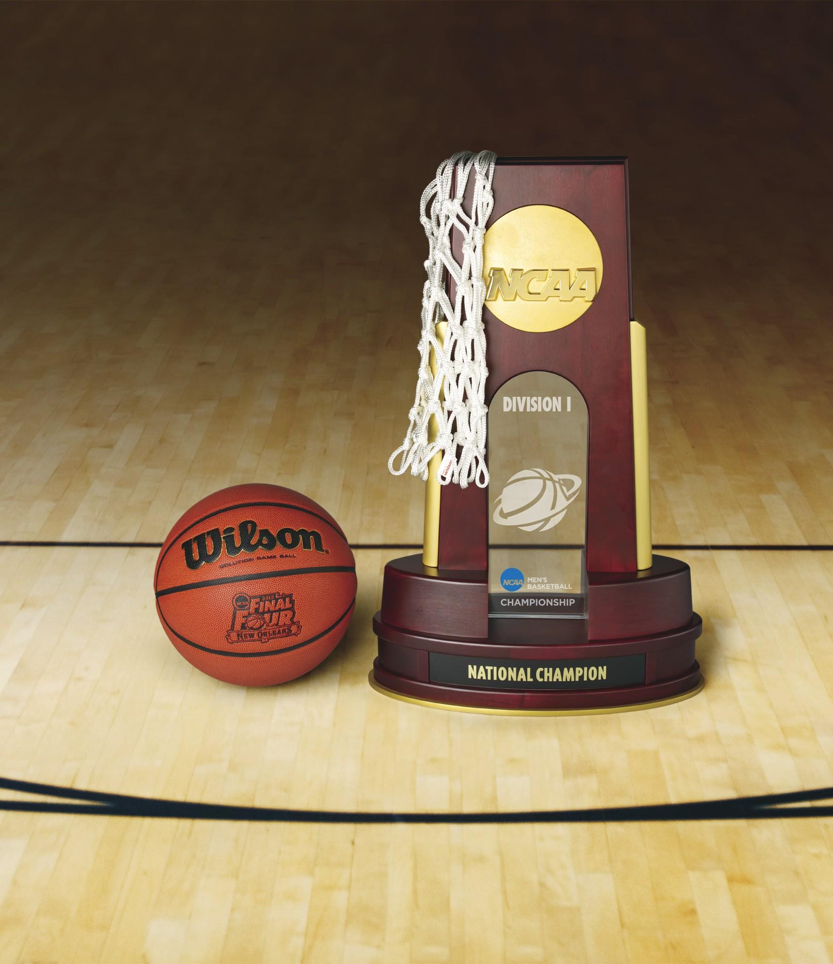 NCAA Basketball Championship Trophy