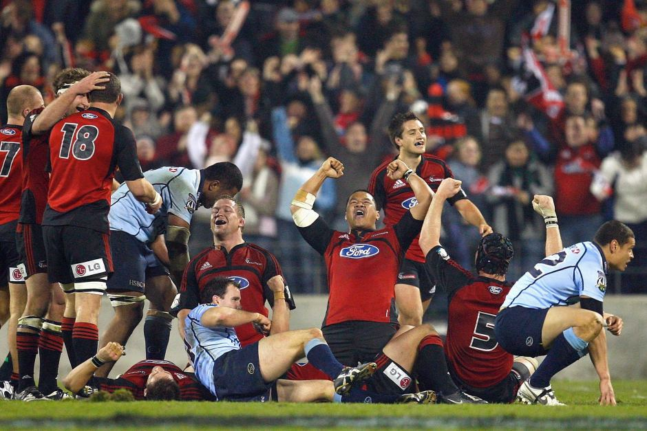 2008 Super Rugby Champions - Crusaders