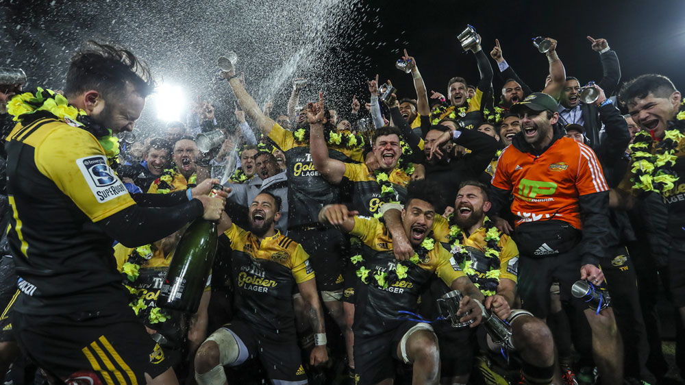 2016 Super Rugby Champions - Hurricanes
