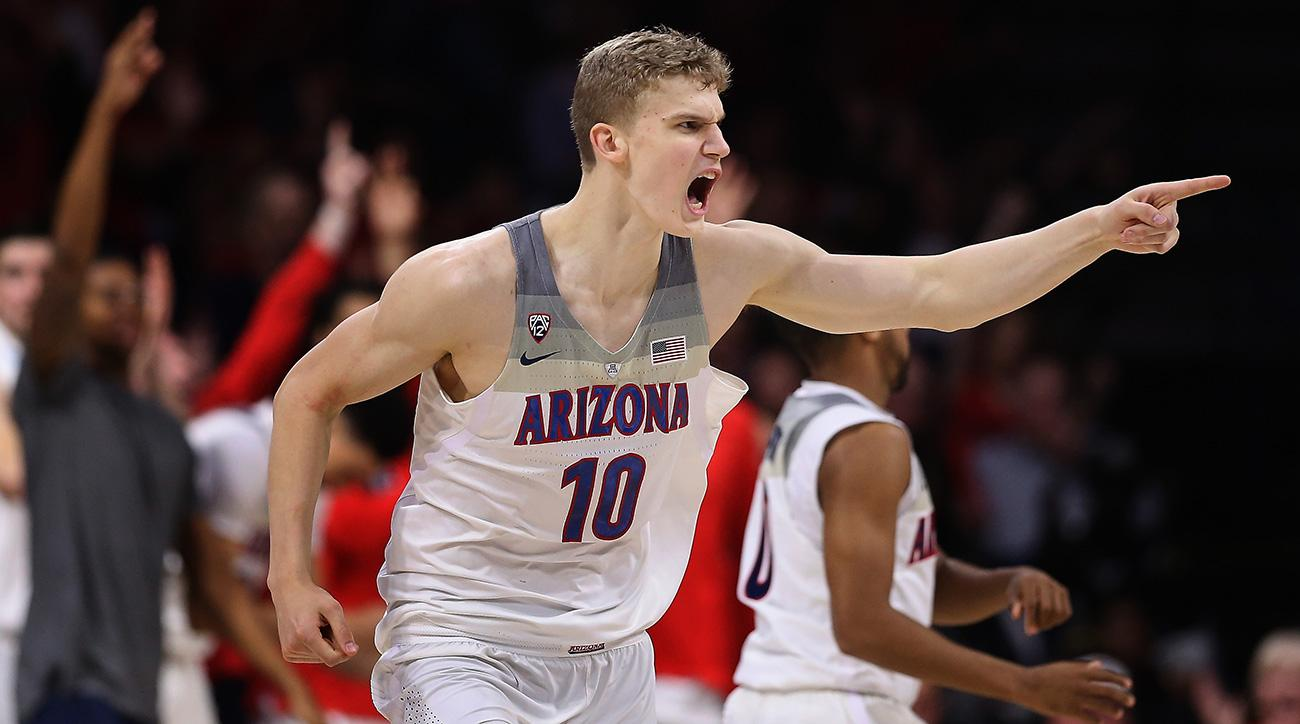 Arizona Wildcats Basketball Player Lauri Markkanen