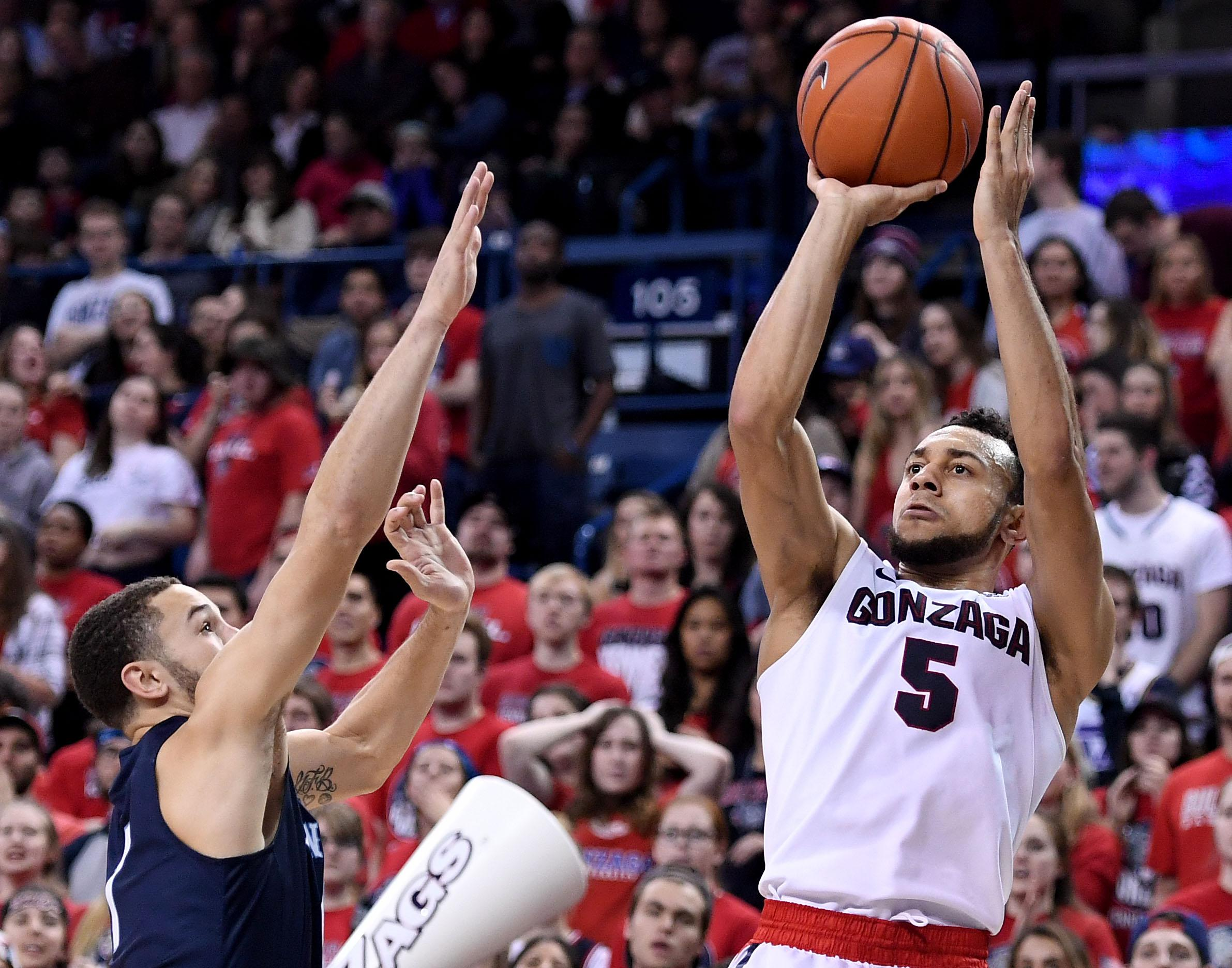 Gonzaga Bulldogs Basketball Player Nigel Williams-Goss