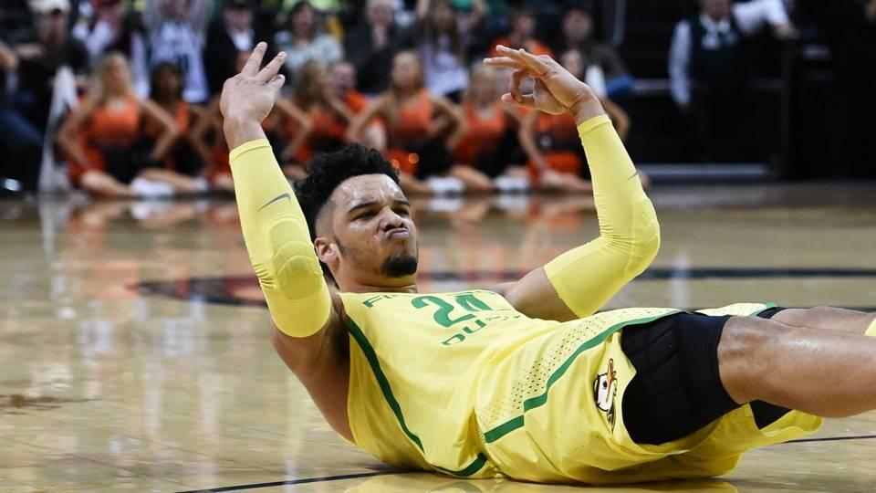 Oregon Ducks Basketball Player Dillon Brooks