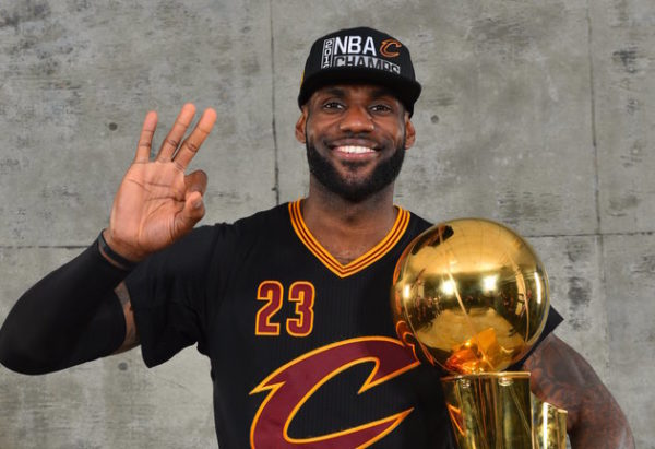 Cleveland Cavaliers Basketball Player LeBron James