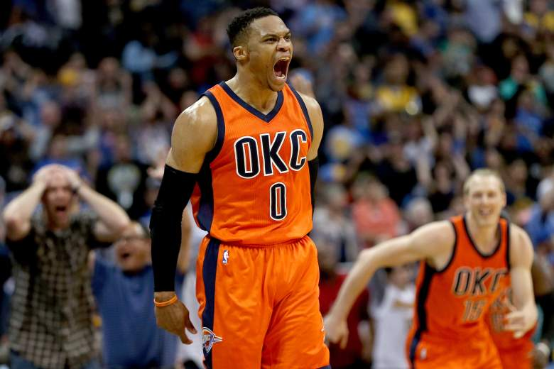 Oklahoma City Thunder Basketball Player Russell Westbrook