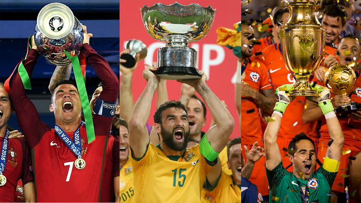 2017 FIFA Confederations Cup Teams - Portugal Australia Chile