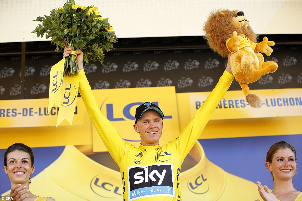 Tour de France 2016 Winner Chris Froome