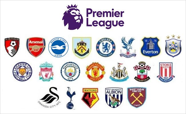 2017-18 English Premier League Logo