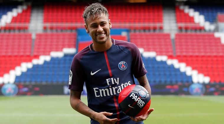 PSG Footballer Neymar Jr