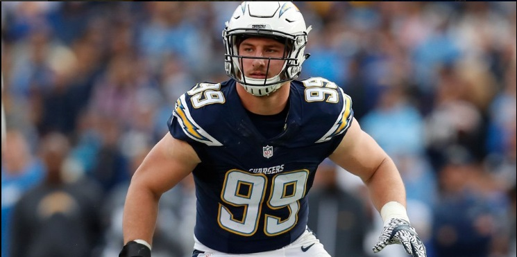 Los Angeles Chargers Defensive End Joey Bosa